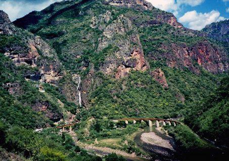 Riding the train through Copper Canyon, Mexico (Photo by Aram Kaprielian/TQ).