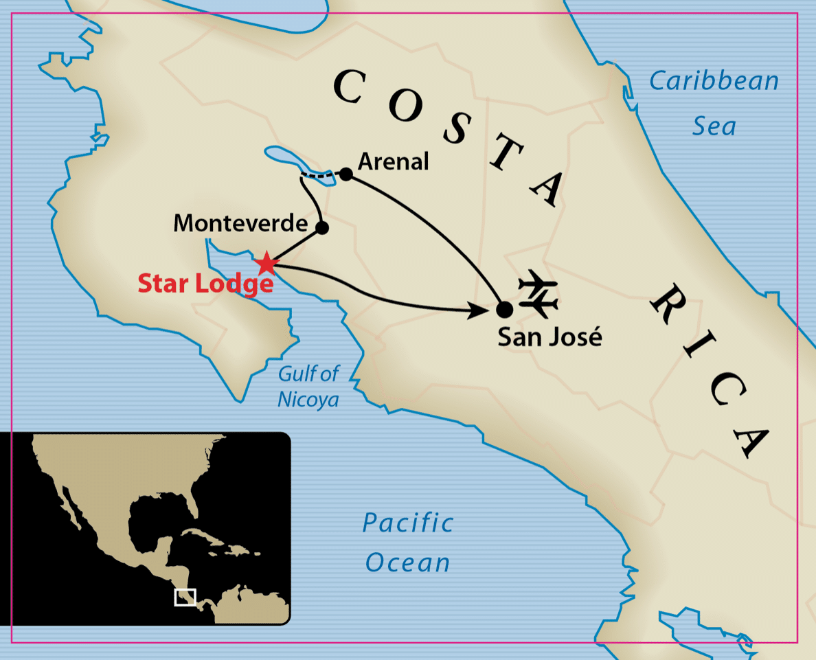 2021 Costa Rica Map